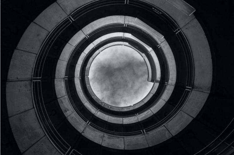 dark downward spiral